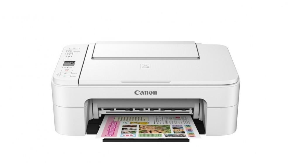 Canon PIXMA Home TS3166 All-in-One Printer - White