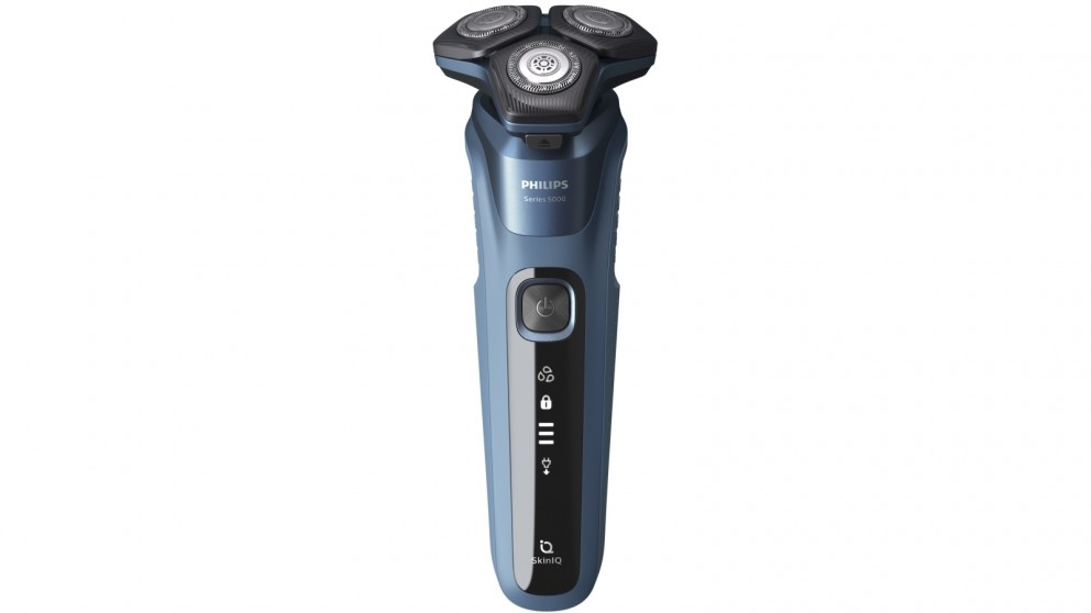 Philips Series 5000 SteelPrecision Wet & Dry Electric Shaver with SkinIQ Technology