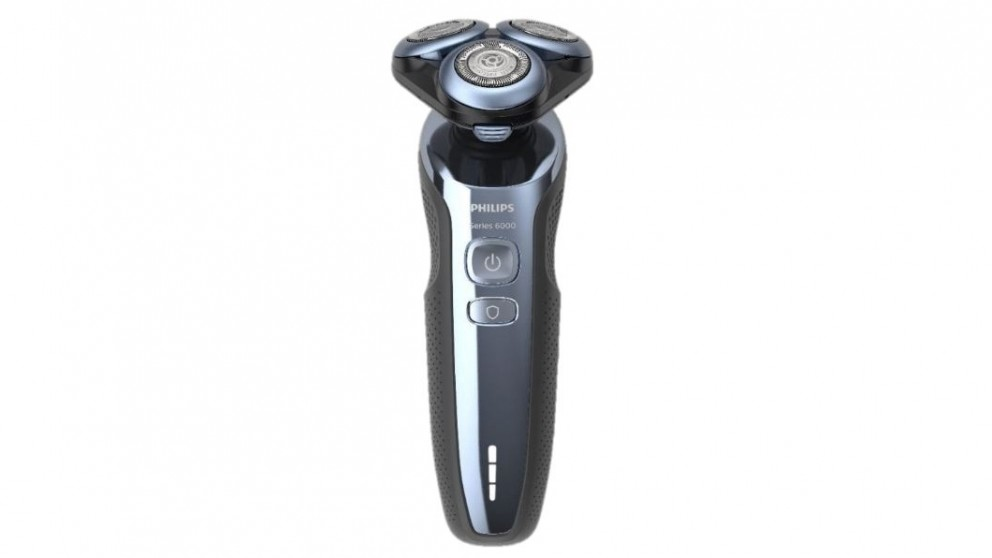 Philips Series 6000 MultiPrecision Wet and Dry Electric Shaver - Blue
