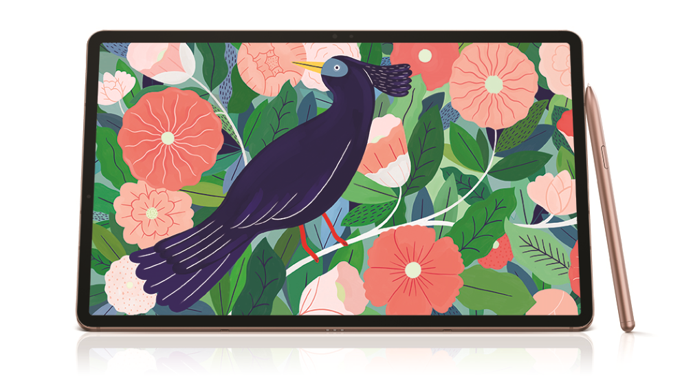 Samsung Galaxy Tab S7+ WiFi 128GB 12.4-inch Tablet - Mystic Bronze
