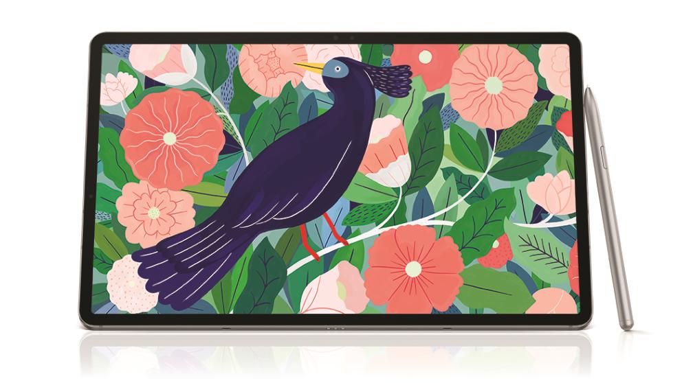 Samsung Galaxy Tab S7+ WiFi 128GB 12.4-inch Tablet - Mystic Silver