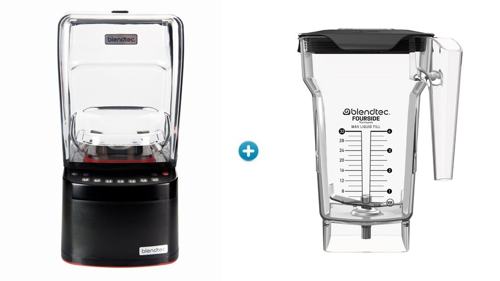 Blendtec Stealth  885 - 1x FourSide Jar Bundle