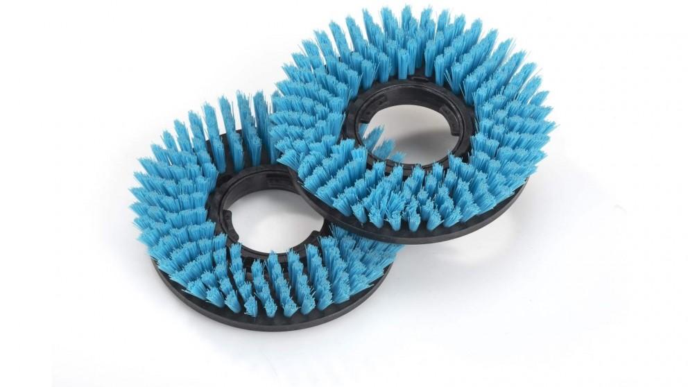 i-team i-mop Lite Medium Blue Brush Attachment - 2 Pack