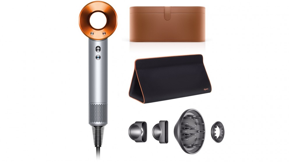 Dyson Supersonic Hair Dryer (Silver/Copper) Gift Edition