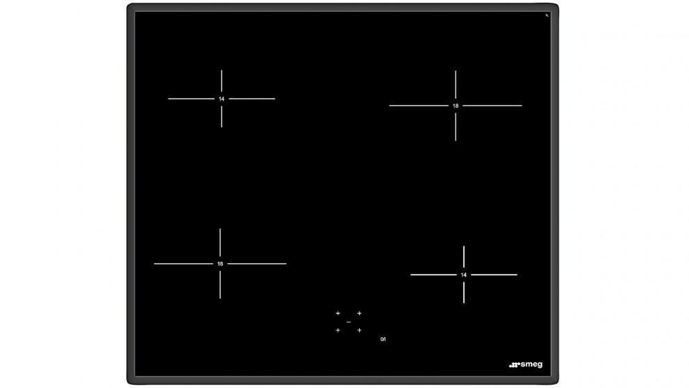 Smeg 600mm Ceramic Plate Cooktop With Touch Control