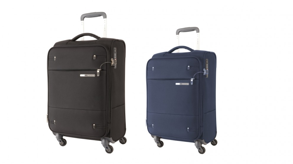 Samsonite 55cm Base Boost 2 Spinner Expandable Suitcase