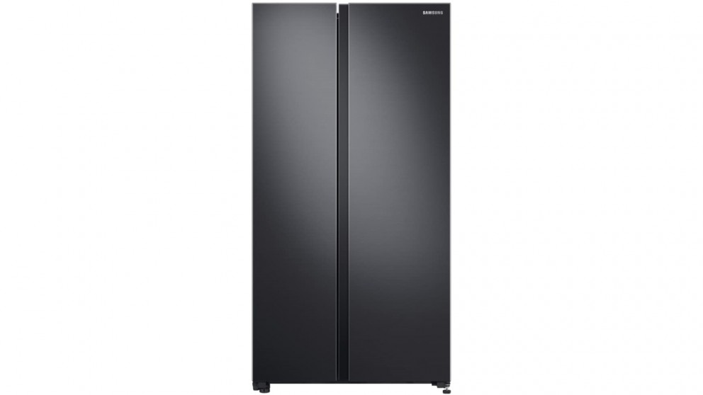 Samsung 696 L Matte Black Side By Side Fridge With Space Max Technology by Samsung