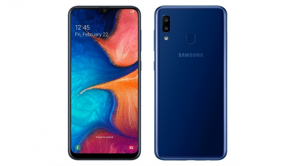 Samsung Galaxy A20 32GB - Blue