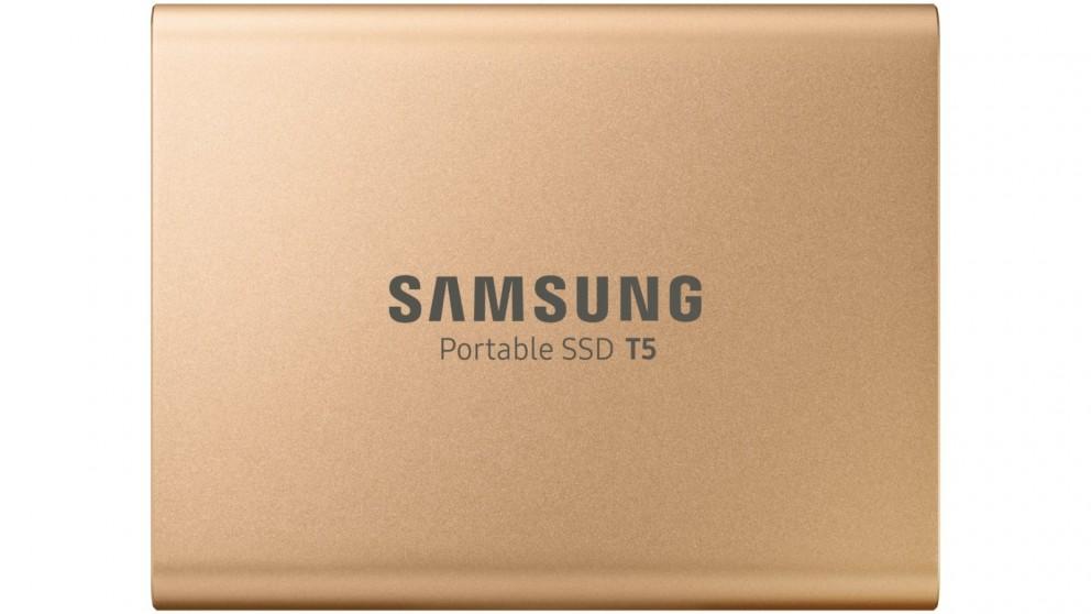 Samsung T5 1TB Portable SSD - Rose Gold