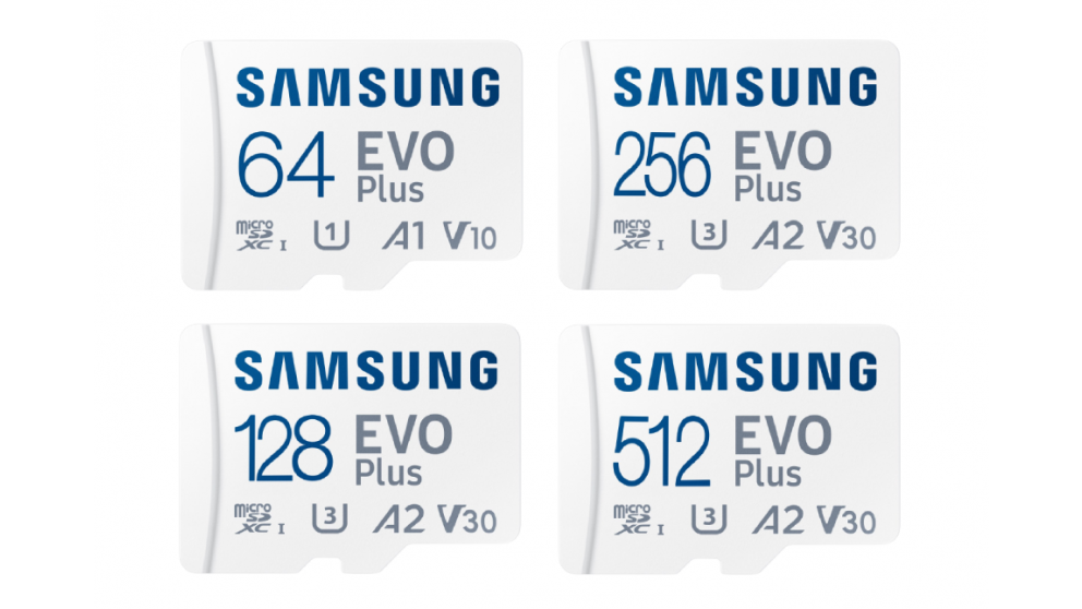 Samsung EVO Plus Micro SD Card with SD Adapter