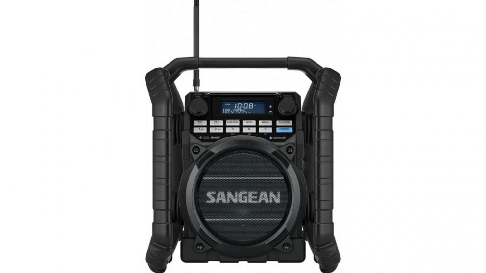 Sangean DAB+/FM/ Bluetooth Utility Radio - Black