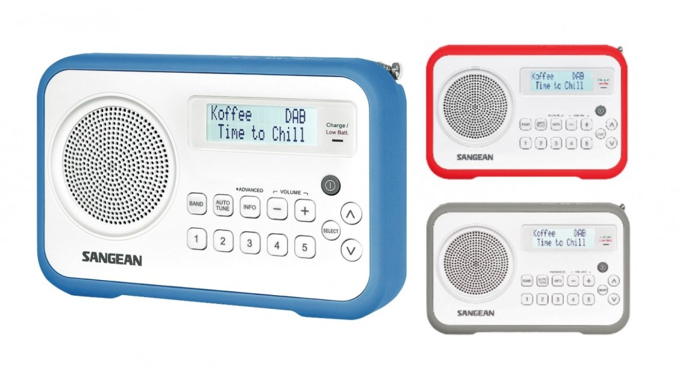 Sangean DAB+/FM-RDS Digital Radio Receiver