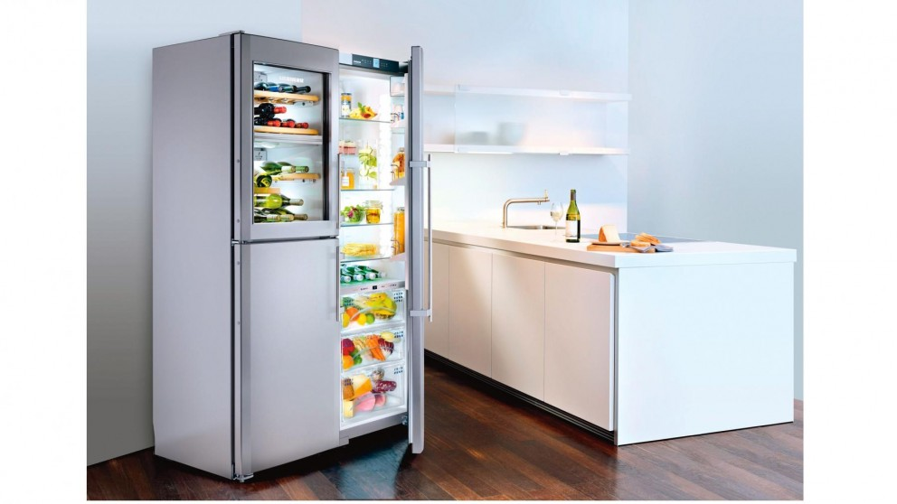 Buy Liebherr 688l Side By Side Fridge With Dual Zone Wine