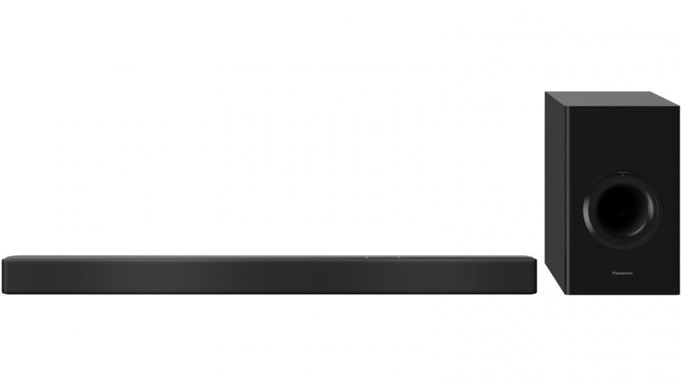 Panasonic 2 1 Channel 240W Chromecast Bluetooth Soundbar & Wireless  Subwoofer