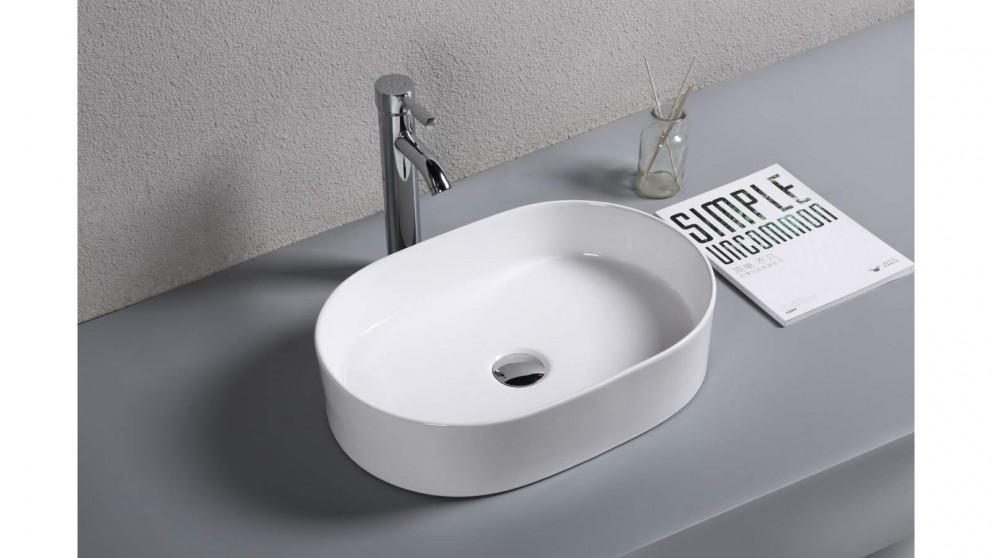 Sanceramica Sapphire 500mm Vessel Basin - Gloss White