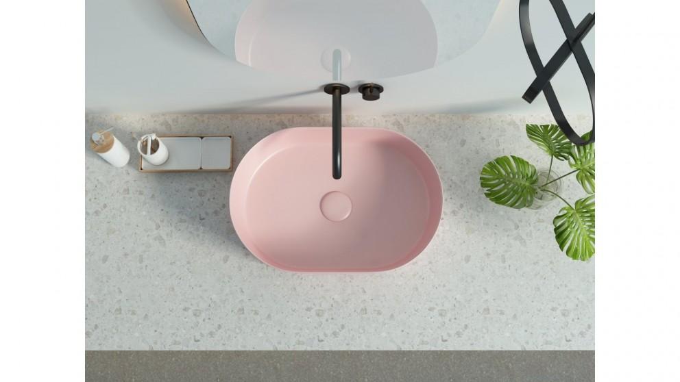 Sanceramica Sapphire 500mm Vessel Basin - Light Pink
