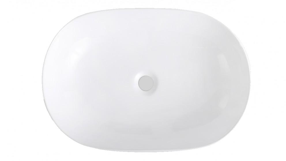 Sanceramica Artique 550mm Vessel Basin - Gloss White