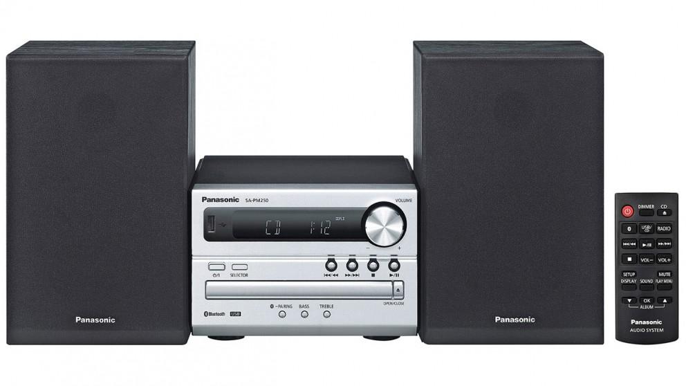Panasonic 20W CD Micro Hi-Fi System with Bluetooth
