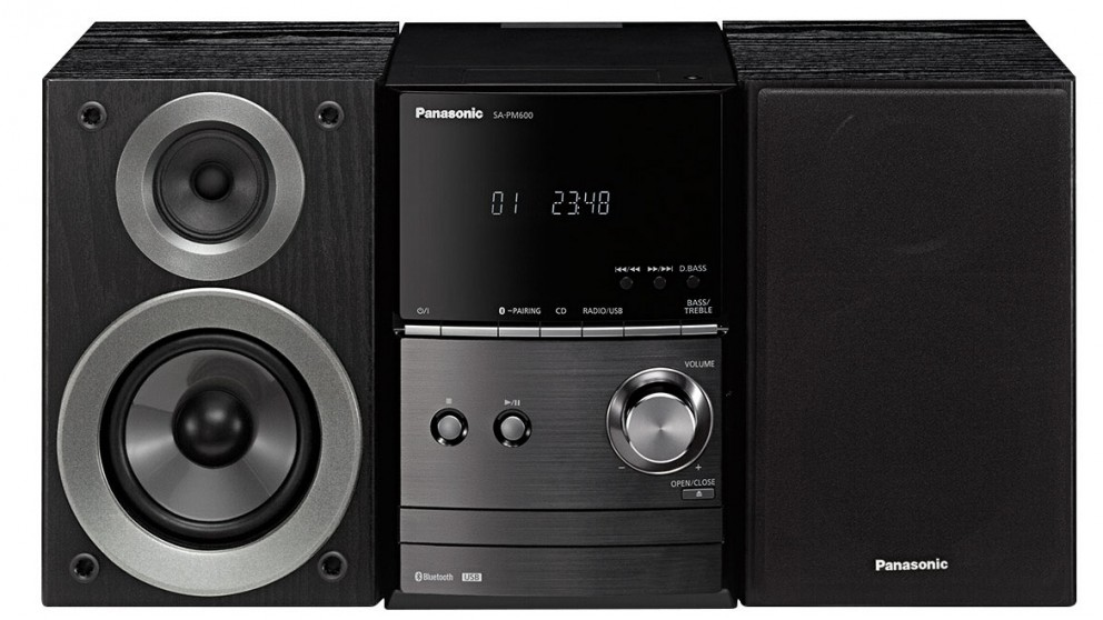 Panasonic 40W CD Micro Hi-Fi System with Bluetooth