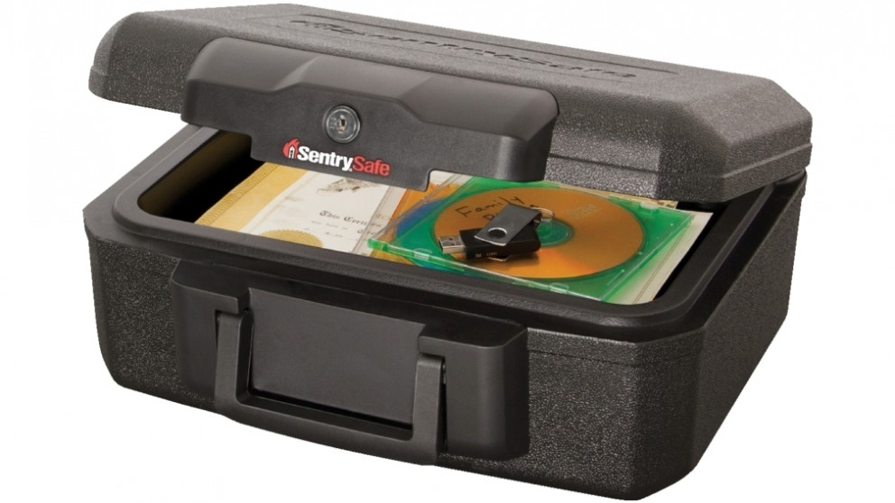 SentrySafe 5.2L Key Lock Fire Chest Security Safe