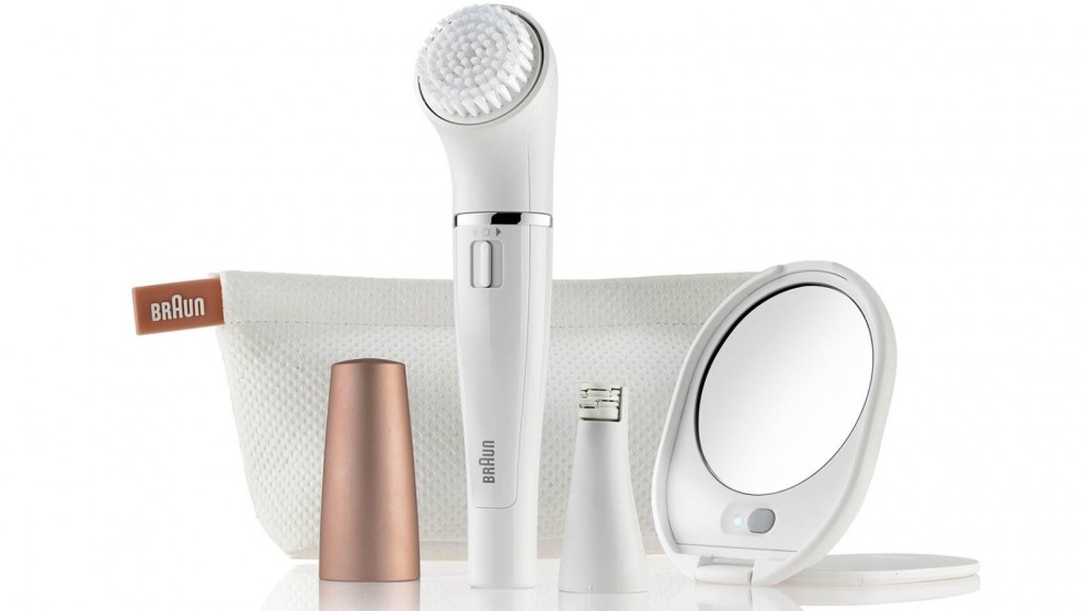 Braun Face 831 Beauty Edition Mini Facial Epilator and Facial Cleansing Brush
