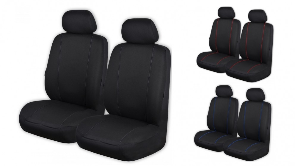 Knitted Polyester Seat Cover Fronts Only