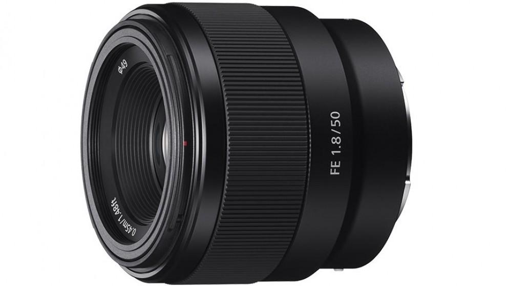 Sony E-Mount FE 50mm F1.8 Prime Lens