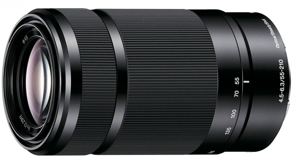 Sony 55-210mm F4.5-6.3 OSS E-Mount Lens