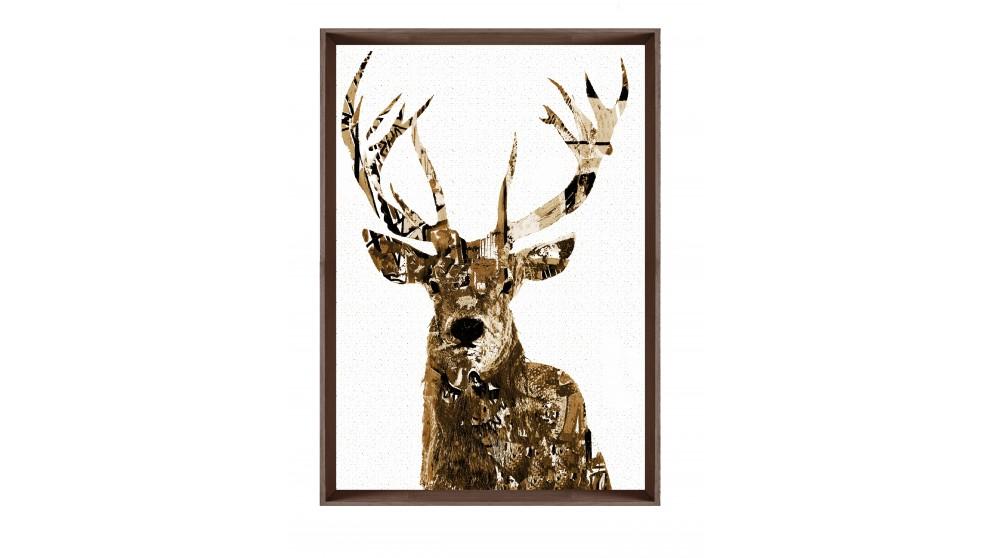 Sepia Deer II Print