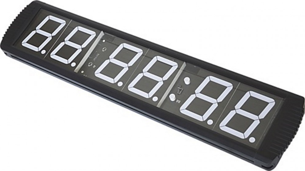 Serrano 6 Digit Digital Timer Interval Fitness Clock