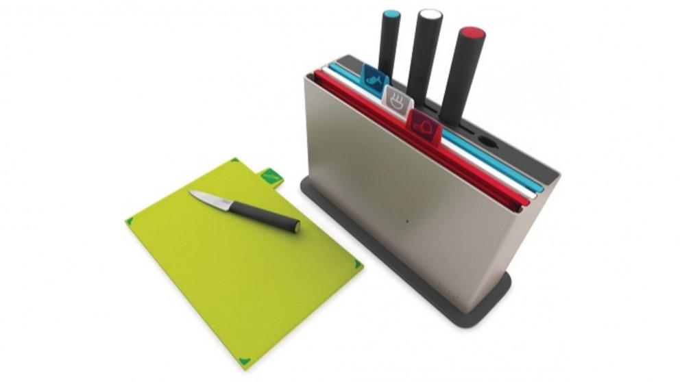 Joseph Joseph Index Steel Chopping Board Set