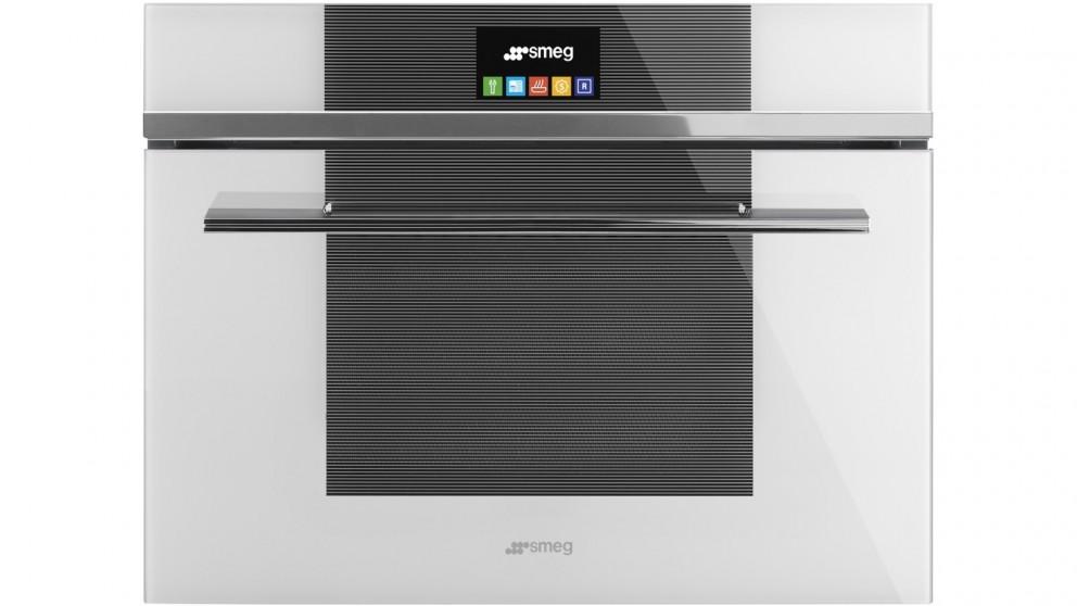 Smeg Linea 600mm Compact Speed Oven - White