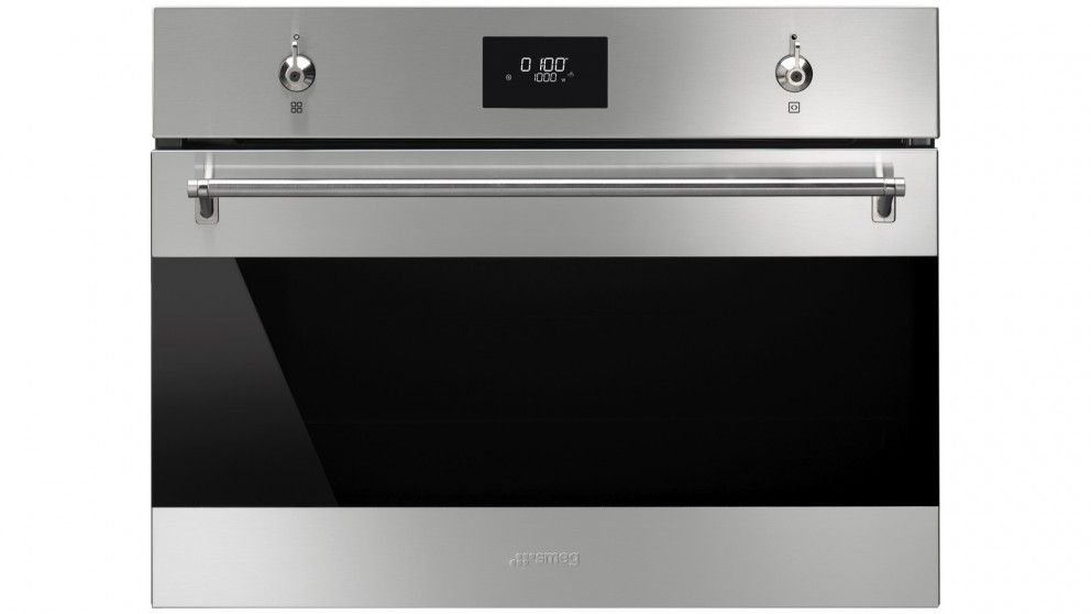 Smeg 600mm Classic Compact Speed Oven with COMPACTScreen - Stainless Steel