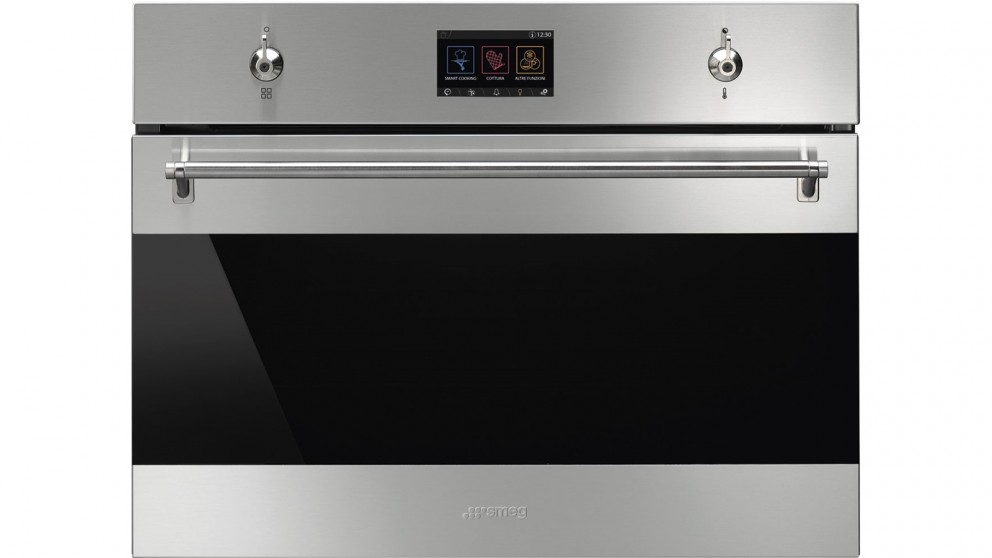 Smeg 600mm Classic Compact Combi-Steam Oven with VIVOscreen