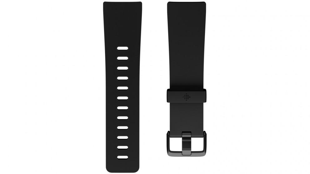 4e0aa1972f6a Buy Fitbit Versa Small Classic Band - Black   Harvey Norman AU