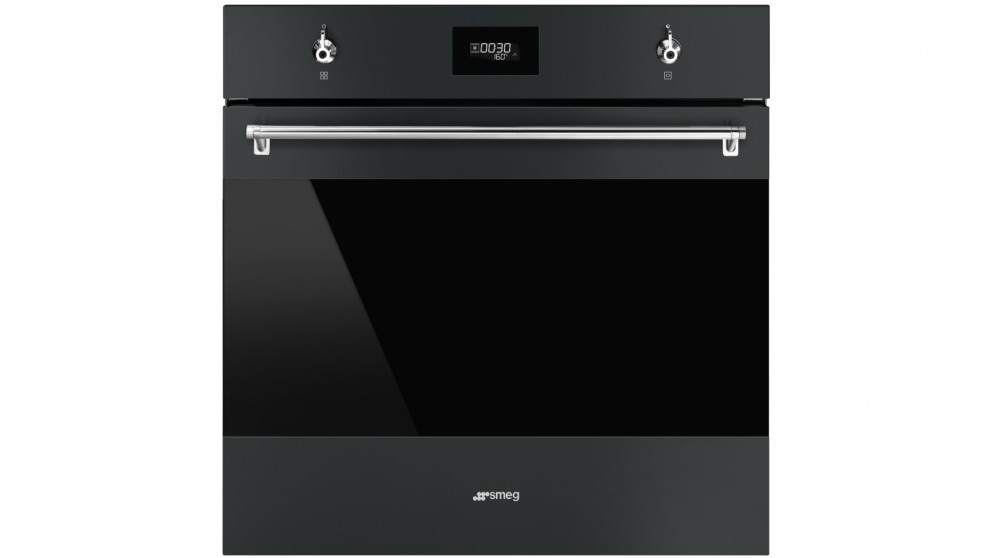 Smeg 600mm Classic Thermoseal Pyrolytic Oven with COMPACTscreen - Matte Black