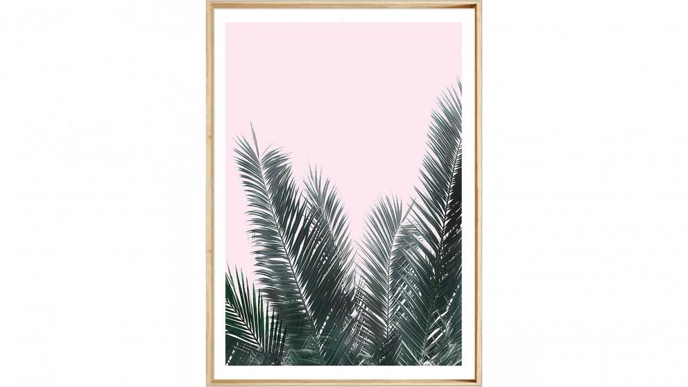 Soft Palms Print