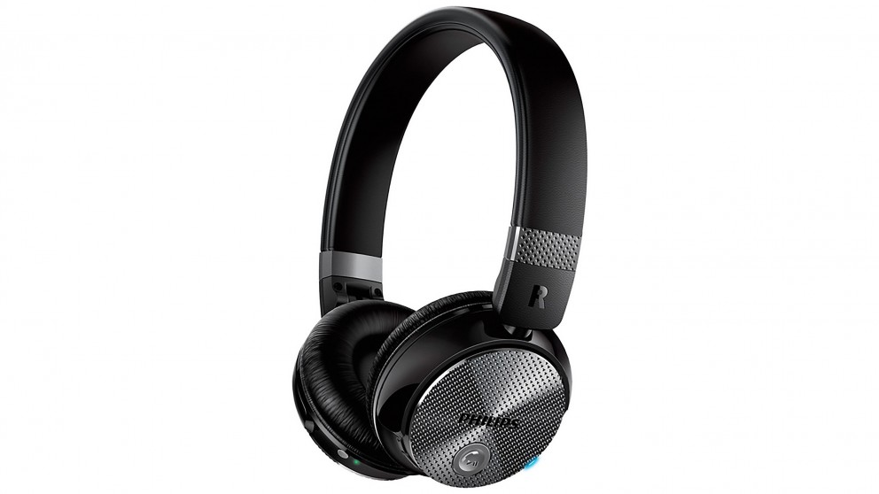 Philips Noise Cancelling On-Ear Wireless Headphones
