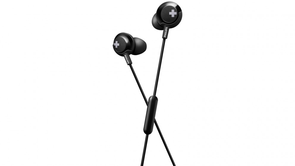 Philips SHE4305BK Bass+ In-Ear Headphone - Black