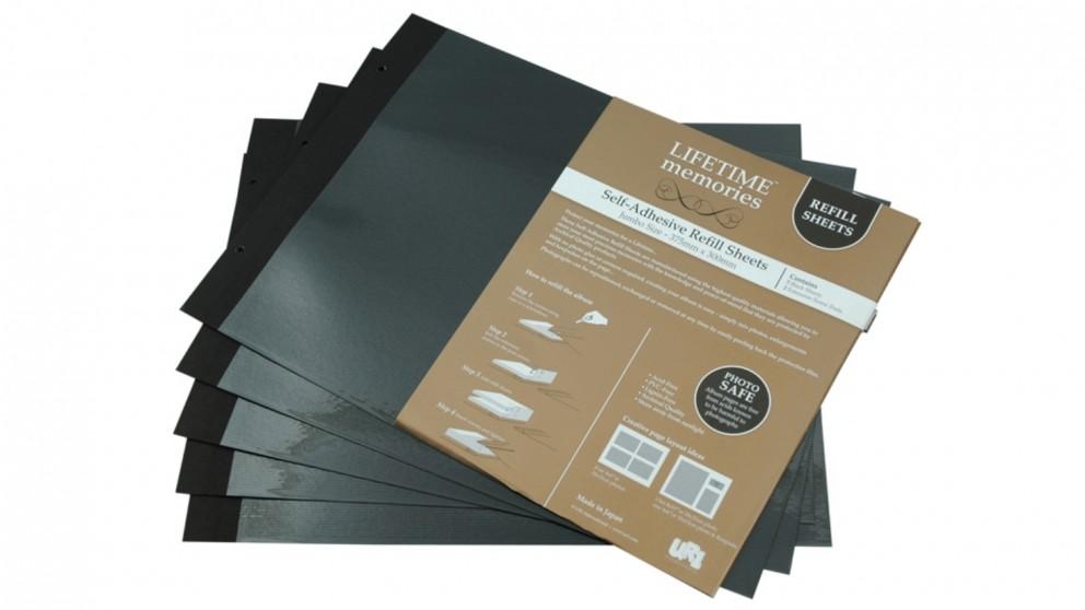 UR1 NCL Self Adhesive Jumbo Photo Album Refills - 5 Sheets