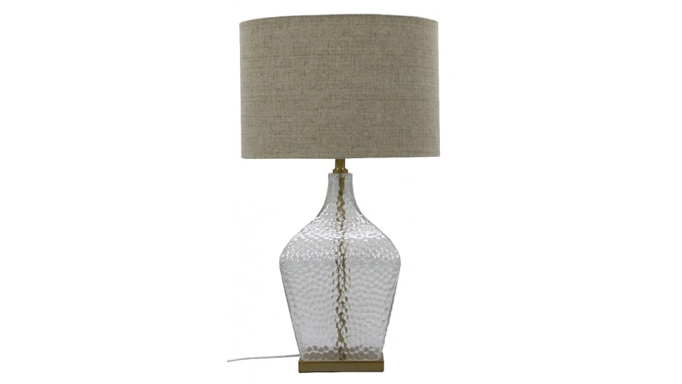 Shimmer Glass Table Lamp (Gold)
