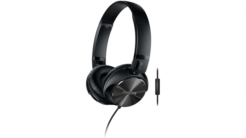 Philips ActiveShield Noise Cancelling On-Ear Headphones