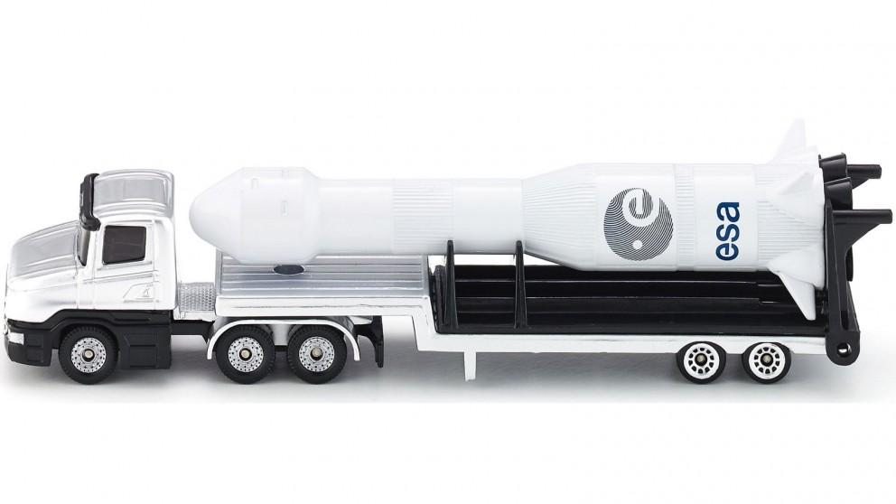 Siku Low Loader with Rocket