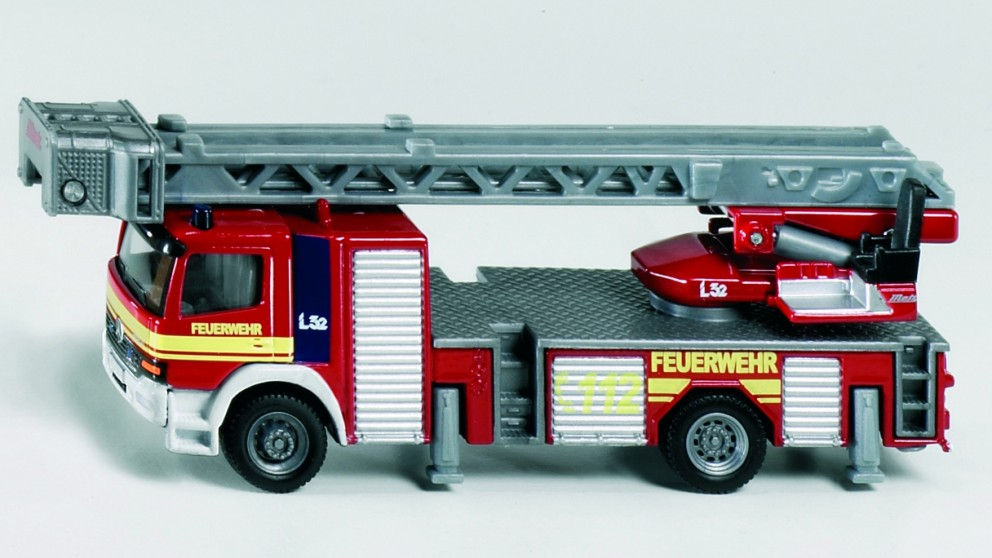 Siku Mercedes Benz Fire Engine - 1:87 Scale