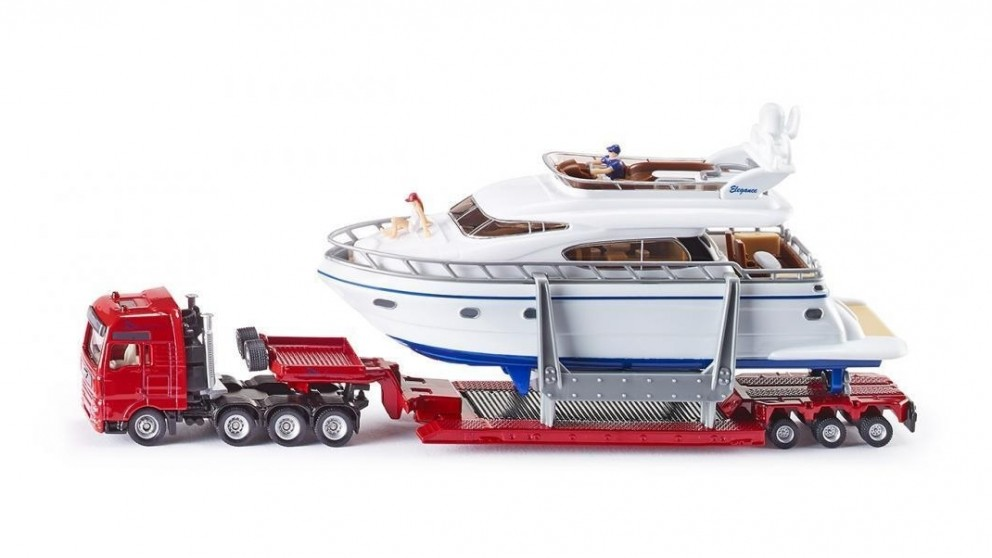 Siku MAN Transporter with Yacht - 1:87 Scale