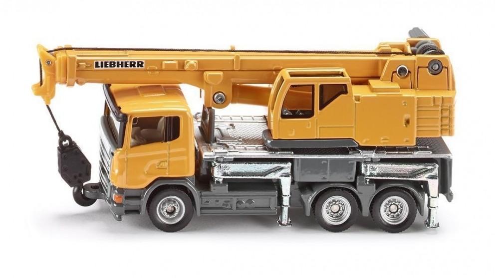 Siku Scania and Liebherr Telescopic Crane Truck - 1:87 Scale