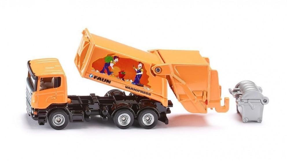 Siku Scania Refuse Lorry - 1:87 Scale
