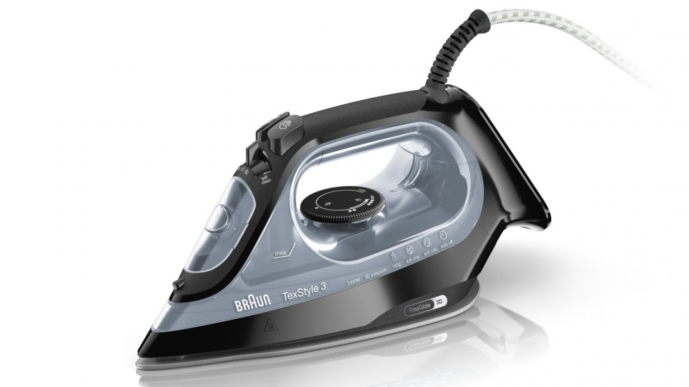 Braun TexStyle 3 Steam Iron - Black