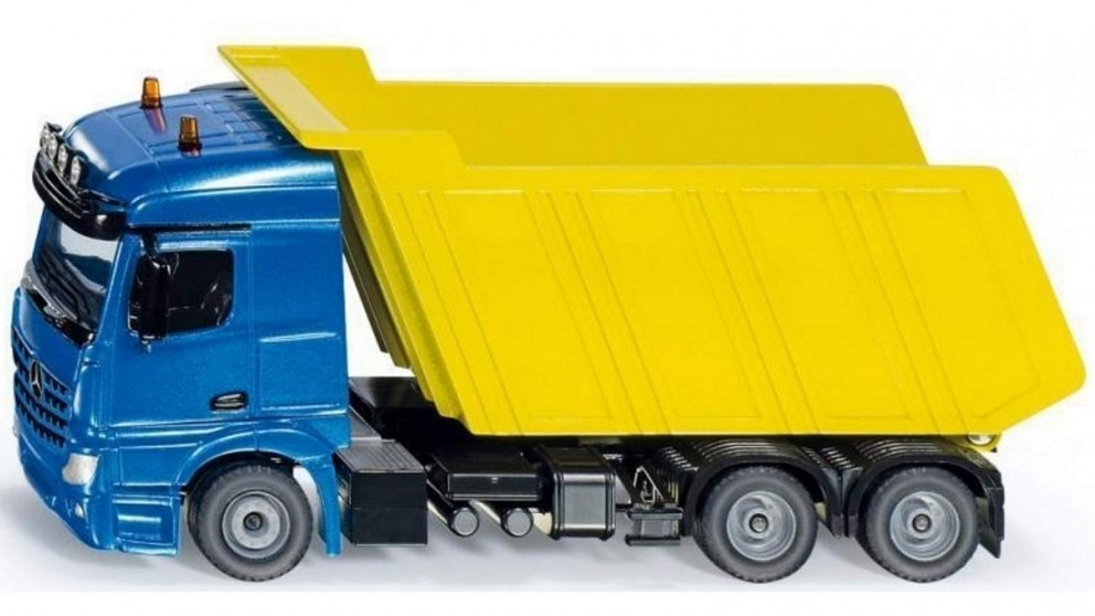 Siku Mercedes Benz with Tipping Trailer 1:50 Scale