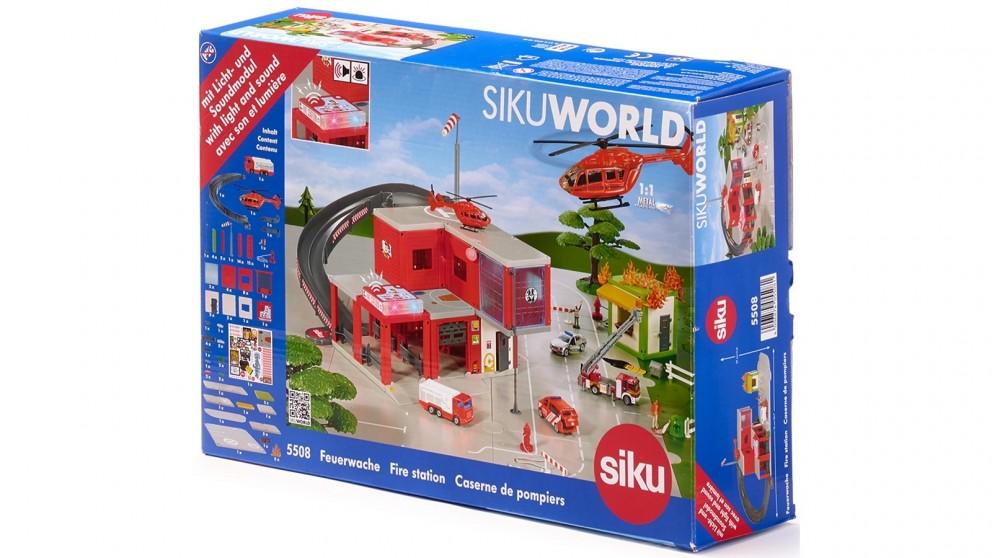 Siku World Fire Station